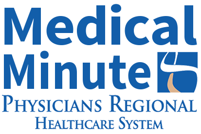 Physicians Regional Medical Minute Podcast on WAVV 101.1 FM Transparent-min