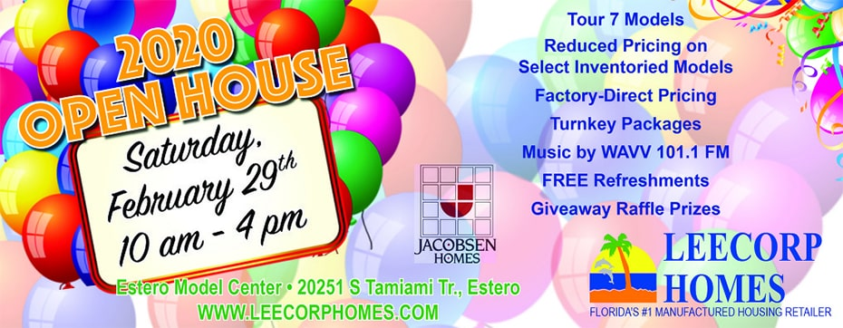Lee Corps Homes Open House - WAVV