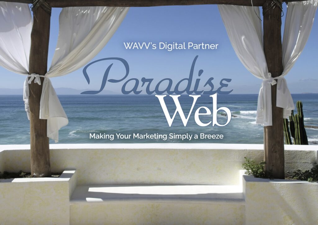 WAVV Digital Partner Paradise Web - Making Your Marketing Simply a Breeze